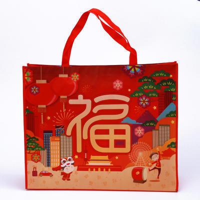 无纺布袋厂家直销 热卖覆膜袋广告宣传印刷 无纺布手提袋购物袋定制LOGO