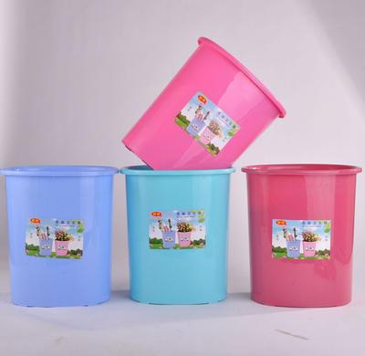垃圾桶厂家直销 新款欧式塑料垃圾桶卫生桶 椭圆家用创意室内垃圾桶