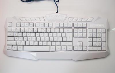 游戏发光键盘 穿天蛇/cantanse 有线键盘 三色发光