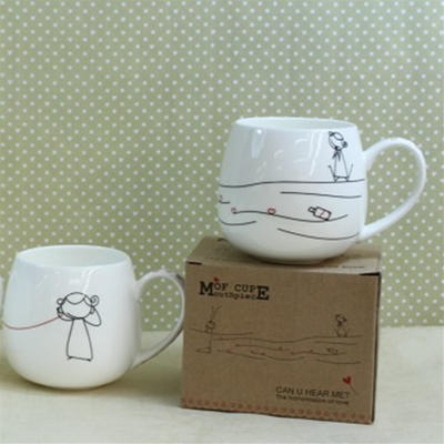 批-新款直筒传真圆杯/陶瓷杯/礼品杯/马克杯/咖啡杯/水杯/茶杯