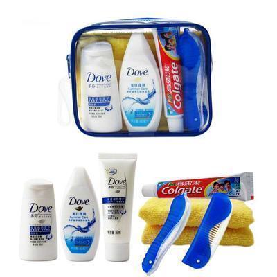 G119 上飞机免运户外用品旅游洗漱包便携牙具套装员工年会福利品