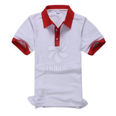 JE翻领短袖广告衫定做 可做厂服班服不退色不起球不变形 广告衫批发可印制logo