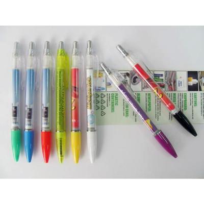 2015热销厂家直销订制拉画笔圆珠笔A296(2)(中性笔)印刷 礼品批发