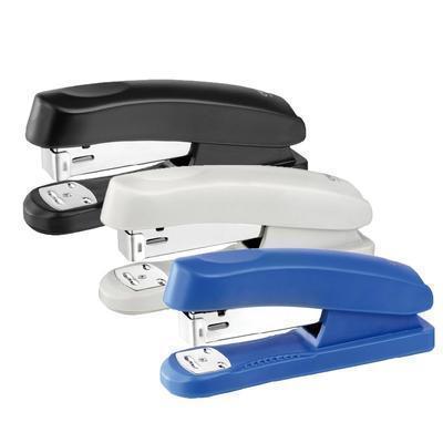 办公用品 deli0346正品全金属手握式订书机12号定制LOGO