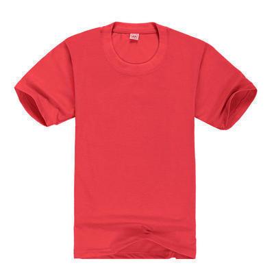 儿童广告衫批发 圆领短袖广告衫定做 多色纯棉短袖T恤幼儿园小学班服 可印LOGO