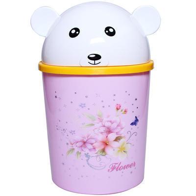 塑料垃圾桶厂家直销 创意家居礼品动物杂物桶收纳桶 卡通家用垃圾桶