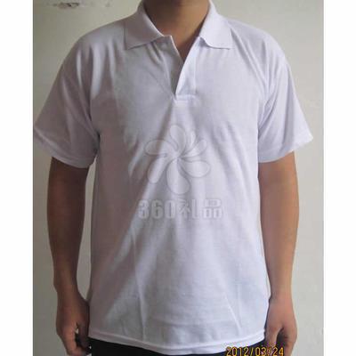 厂家直销广告衫批发 OK翻领短袖广告衫定做 工作服校服宣传活动 可印制logo