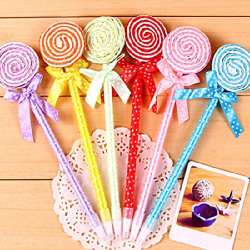 创意文具现货供应创意礼品可爱棒棒糖圆珠笔 批发