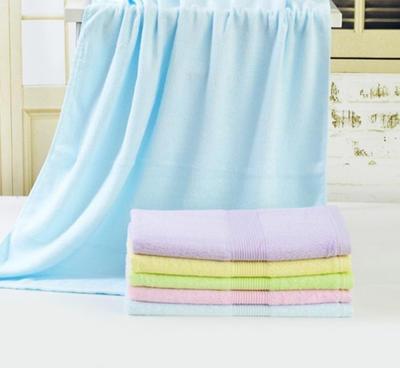 正品新款纹理竹纤维毛巾浴巾套巾特价促销款超强吸水包邮可批发