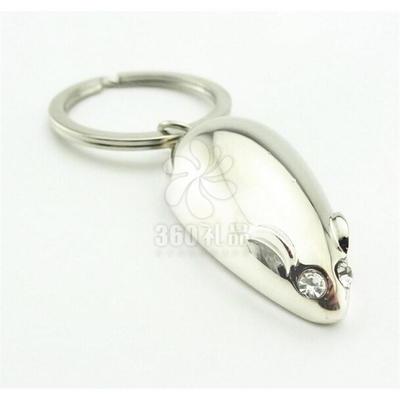 新品德国Philippi老鼠钥匙扣生肖钥匙圈汽车创意生日小礼品老鼠扣