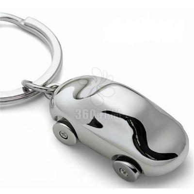 创意德国小汽车钥匙扣Philippi汽车钥匙链转动四轮可加印公司礼品