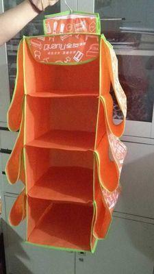 衣柜挂袋 挂式收纳袋厂家直销 布艺储物袋挂 可洗包包收纳挂袋