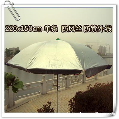 直径2.2米单条防风丝防紫外线大号广告太阳伞 户外遮阳伞定做印字