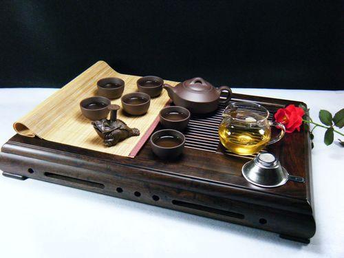 360礼品 茶具套装批发宜兴紫砂茶壶礼品茶具9件套可定做LOGO混批