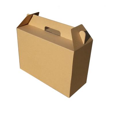 365bet娱乐场888_365bet投注app_365bet体育在线15  订做牛皮瓦楞手提纸箱纸盒子有机蔬菜水果土特产包装箱子定做中号
