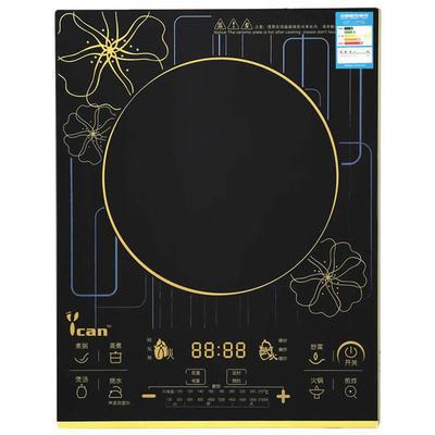 高强度黑晶板多功能电磁炉 厂家直销批发定制电磁炉 可以印制logo