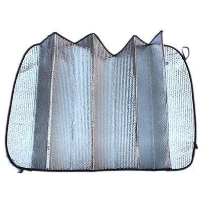 夏天必备 汽车遮阳挡 隔热防晒 可折叠 铝箔太阳挡 前挡 130*60cm