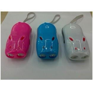 兔子手压发电手电筒/无电源手电筒/促销广告礼品灯 印LOGO