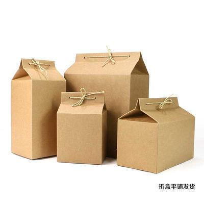 干货特产包装 春茶茶叶包装 折叠茶叶盒特产盒 厂家直销可定制